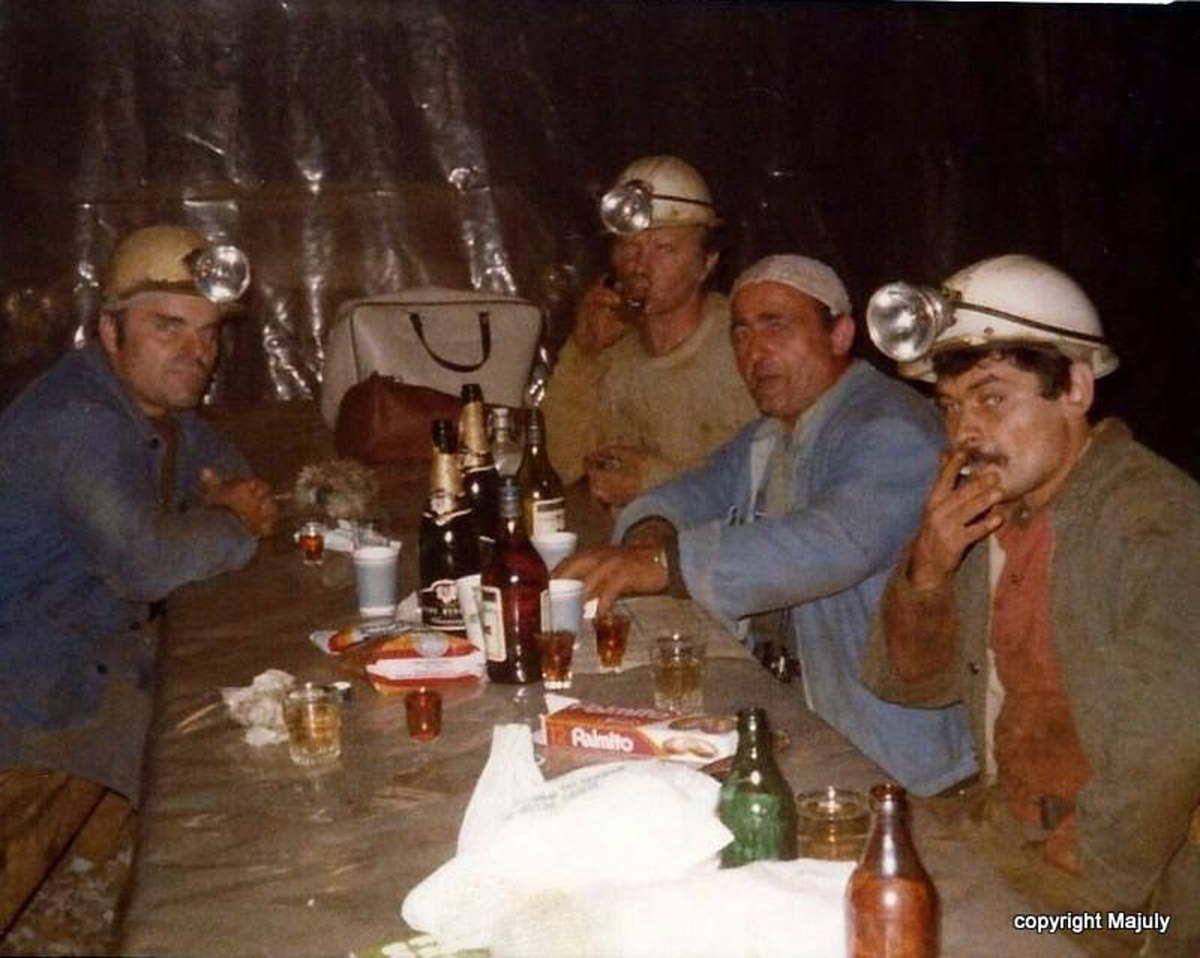 Noël et Nouvel an au fond de la mine à Algrange