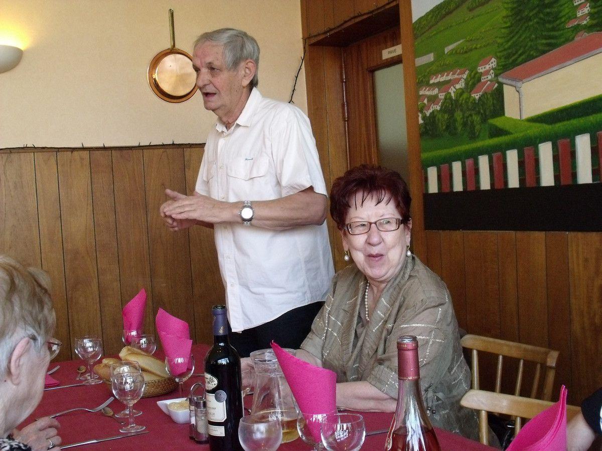 Un bon repas avec le club de l'Amitié d'Algrange