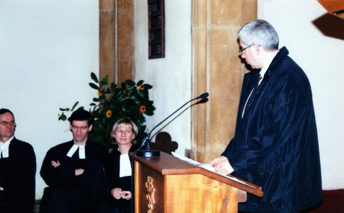 Catherine François, devient le pasteur d'Algrange en 2002