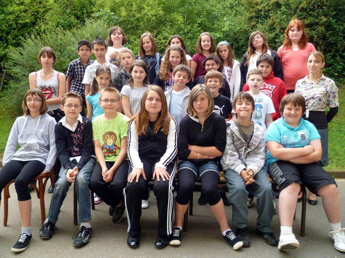 2011 - 2012 Cours Moyen 2ème année