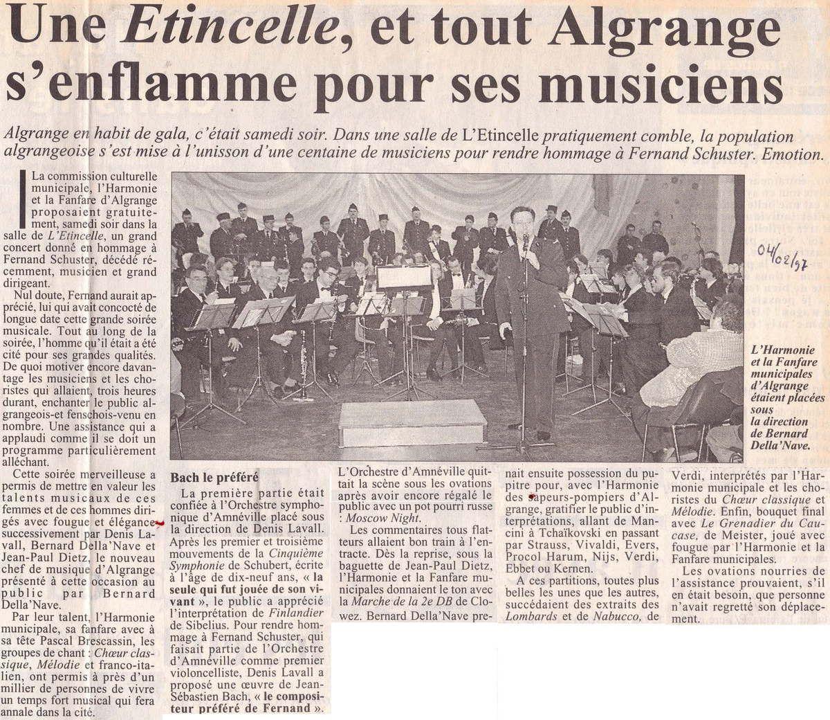 Les articles du RL du 4 février 1997