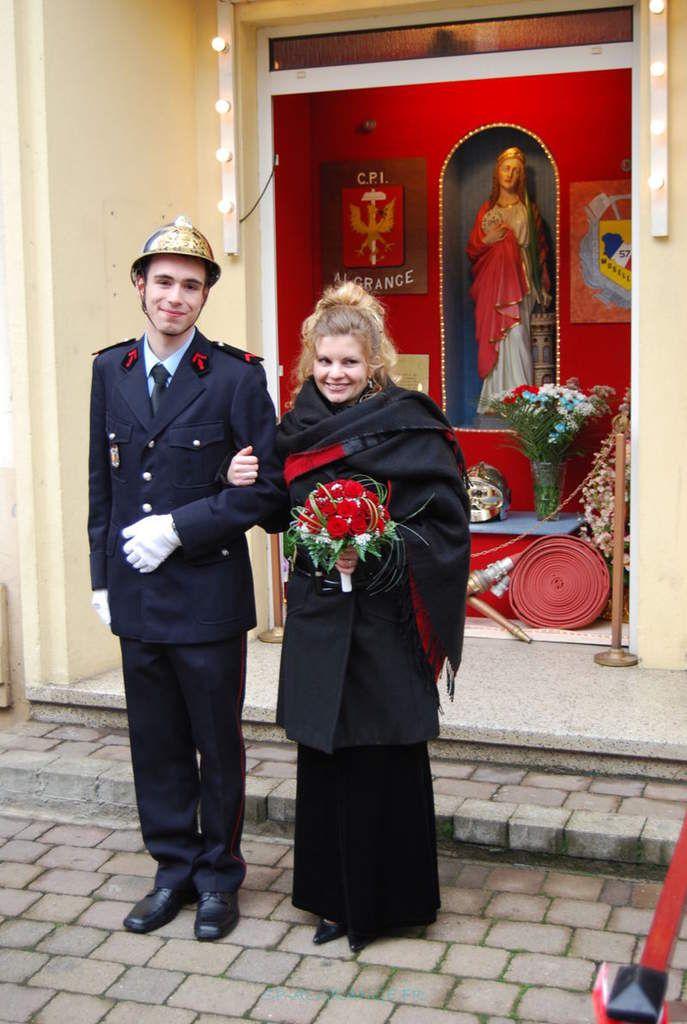 Le couple d'honneur 2008: Nicolas ADDIS et Noémie DALLA-MORA
