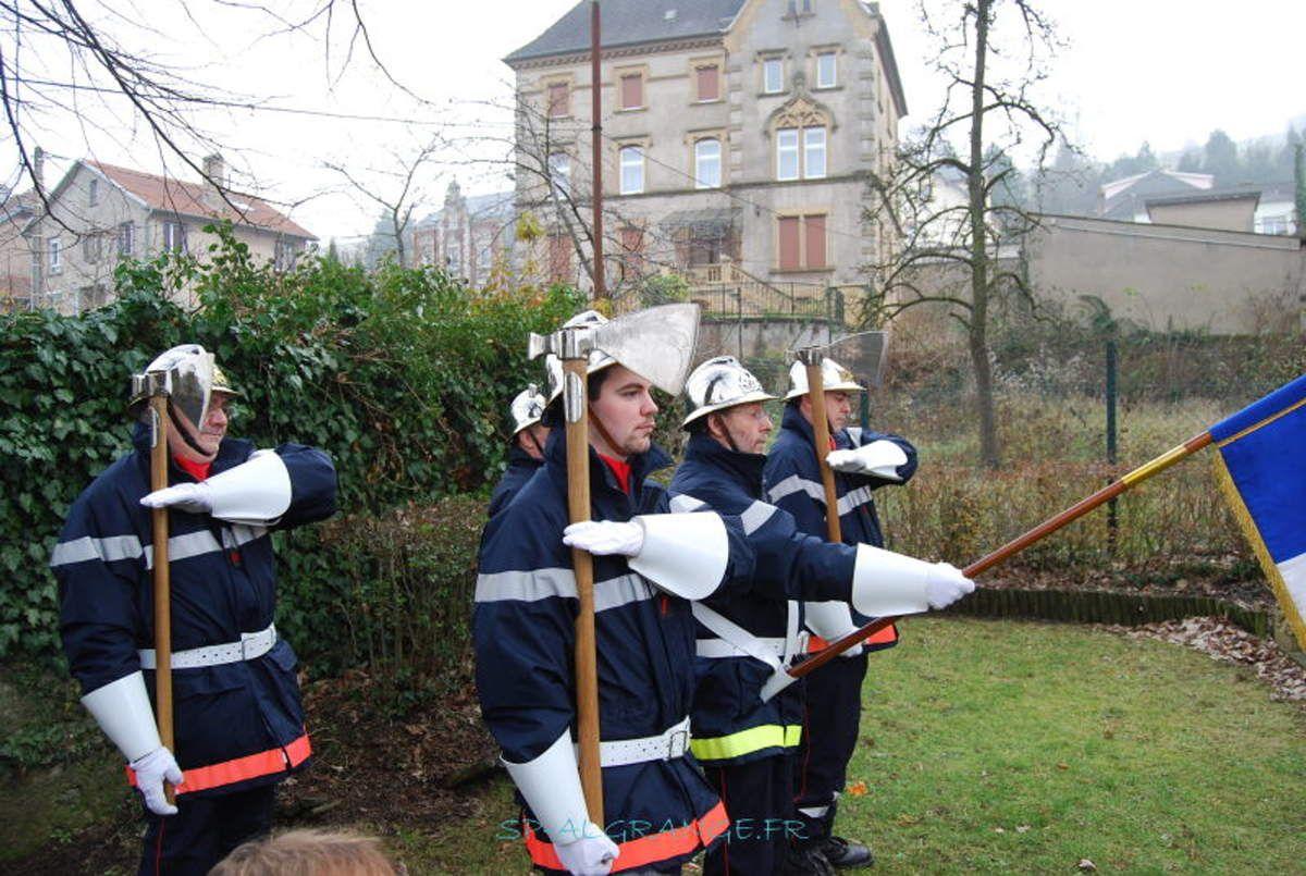 Sainte-Barbe des Sapeurs Pompiers d'Algrange en 2008