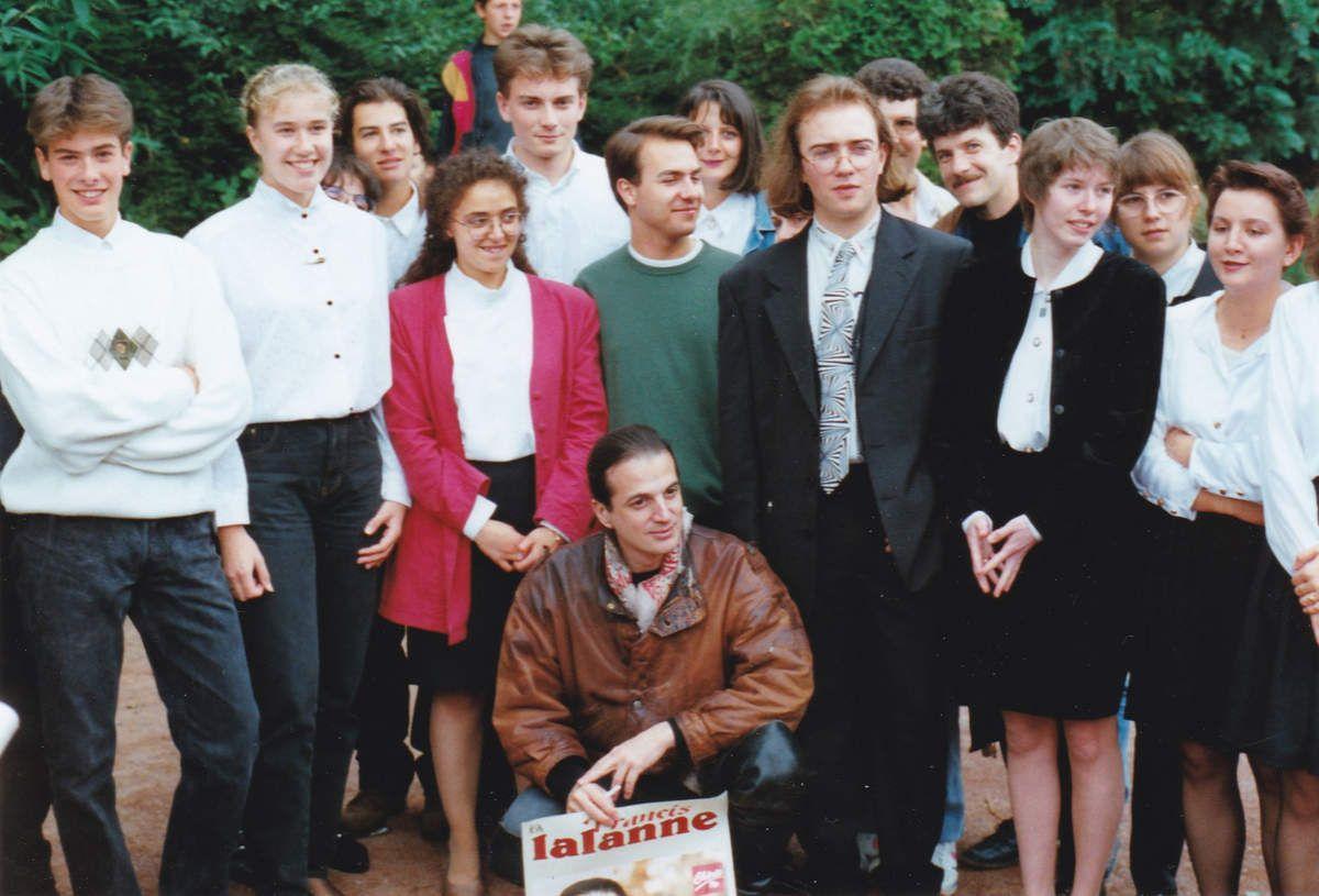Francis LALANNE à la fête de la Musique à Algrange en 1993