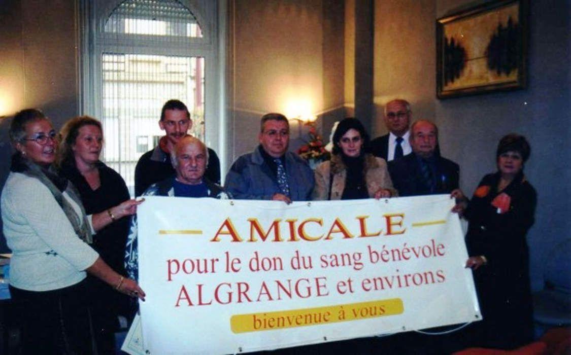 Assemblée des Donneurs de sang d'Algrange en 2003