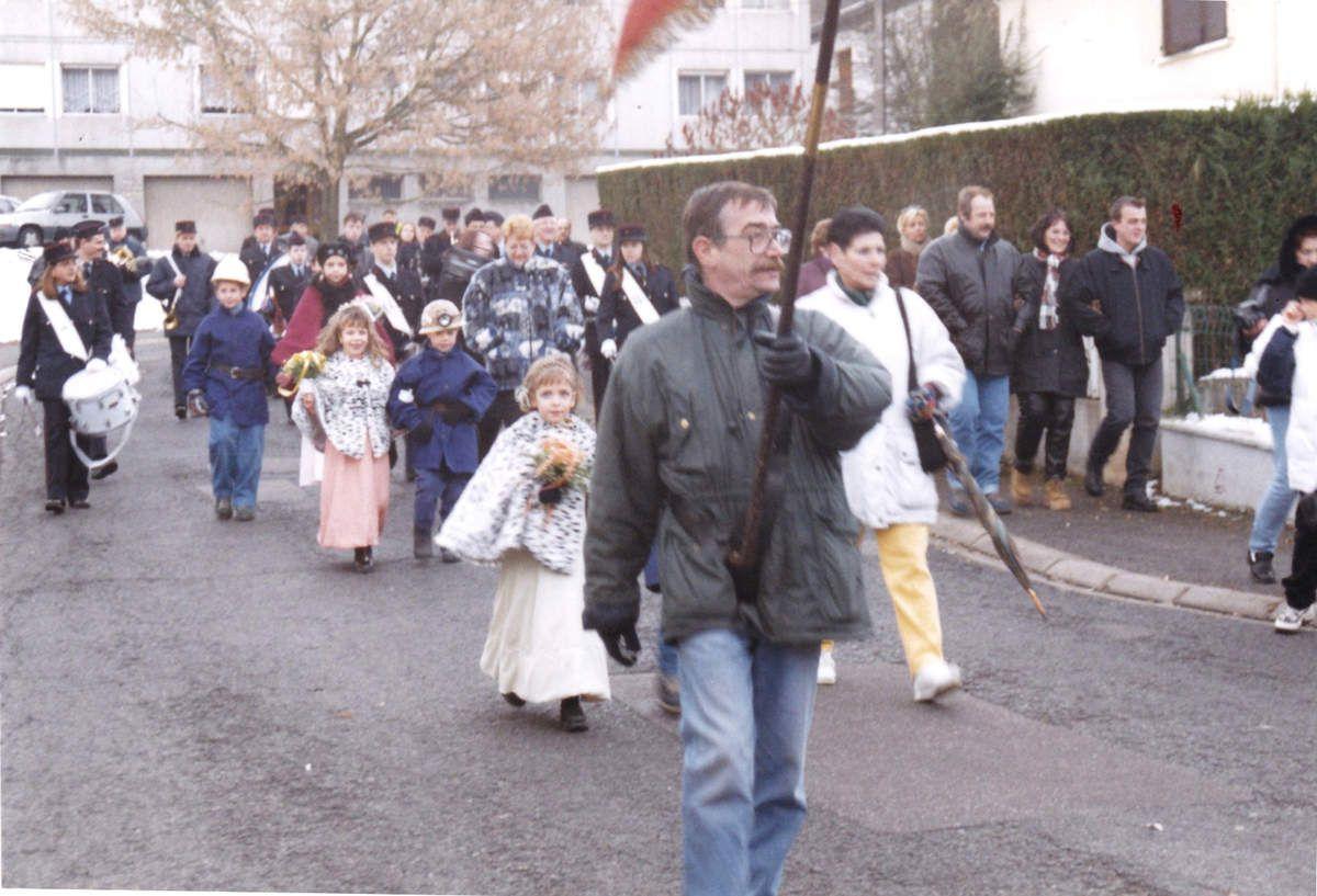 Sainte Barbe des enfants de Mineurs 1998 à Algrange