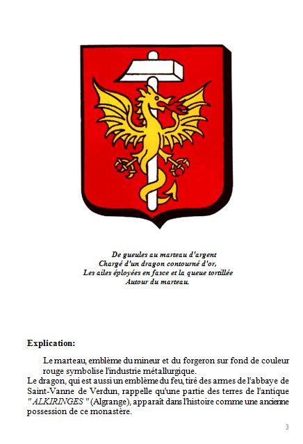 Livre de Roland SEBBEN - ALGRANGE Cité aux 4 mines (1) - Origines et situation