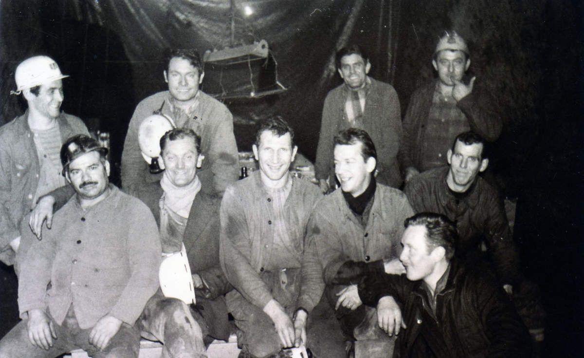 Mineurs de fond à la pause casse-croûte