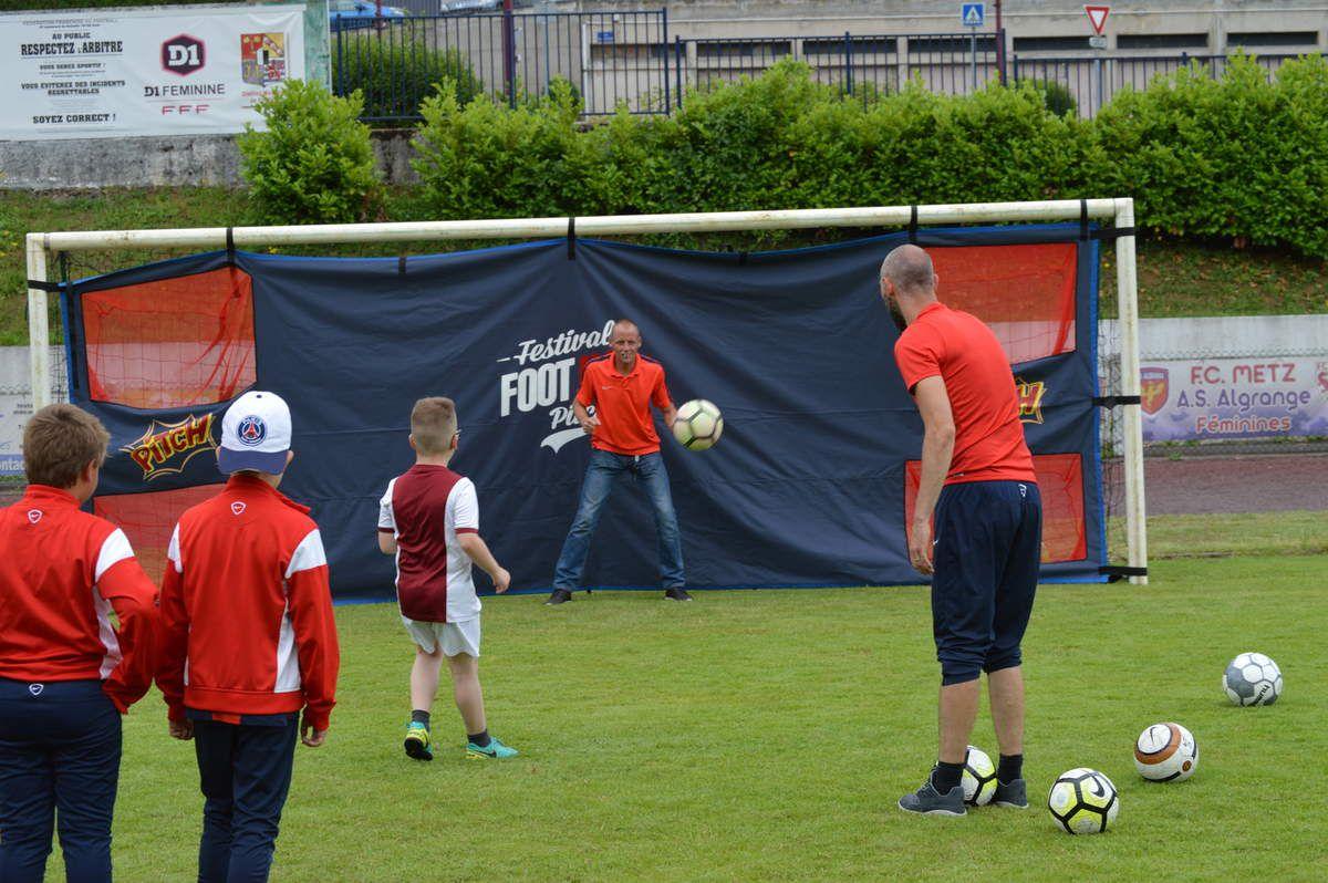 Football &amp&#x3B; Citoyenneté 2017 au stade du Batzenthal à Algrange