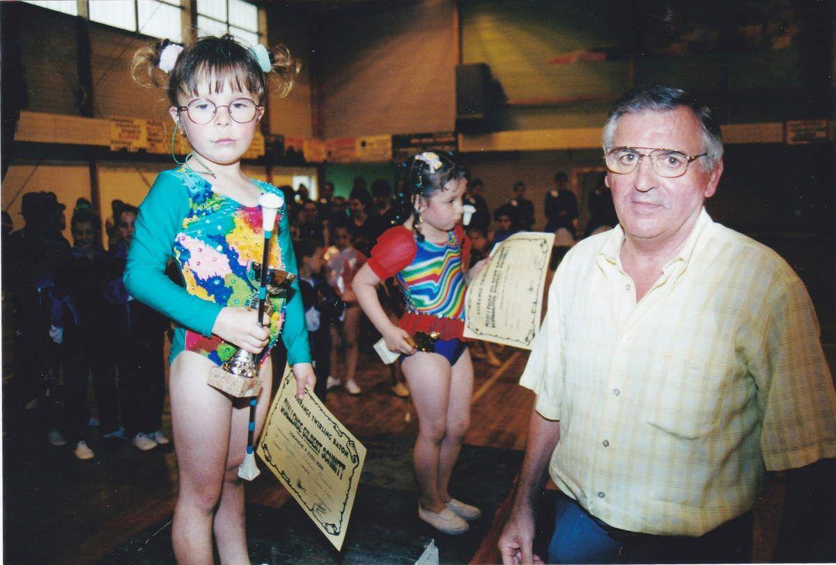 Challenge Gilbert SCHMITT de Twirling-bâton en 2000 à Algrange