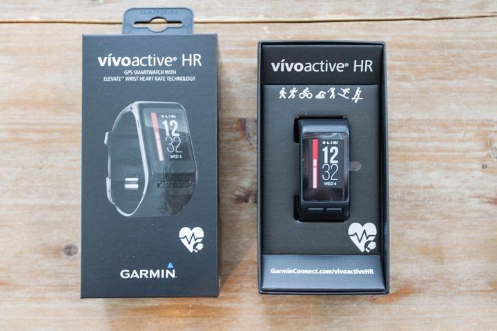 Nouveau jouet : Garmin Vivoactive HR