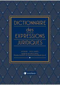 Dictionnaire des expressions juridiques  (bibliographie)