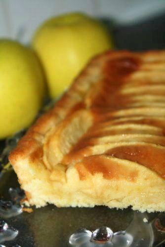Tarte aux pommes au beurre