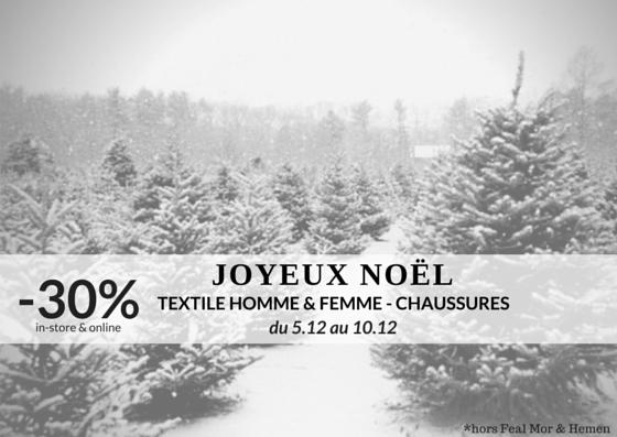 PROMO 5.12-10.12 // Joyeux Noël!