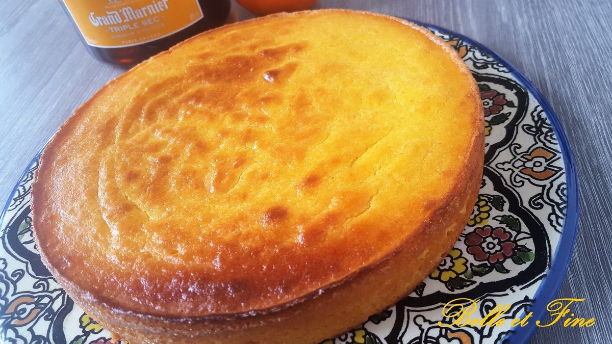 Gateau à l'orange sans gluten