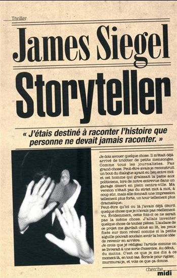 Coin lecture : Storyteller, de James Siegel