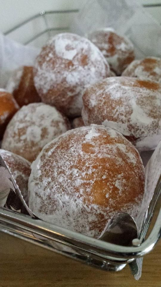 Bombolini ou gros beignets !