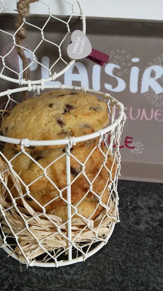 Cookies au coeur fondant nutella