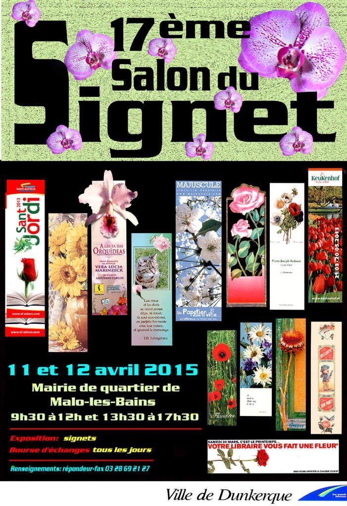 Affiche du Salon du Signet 2015