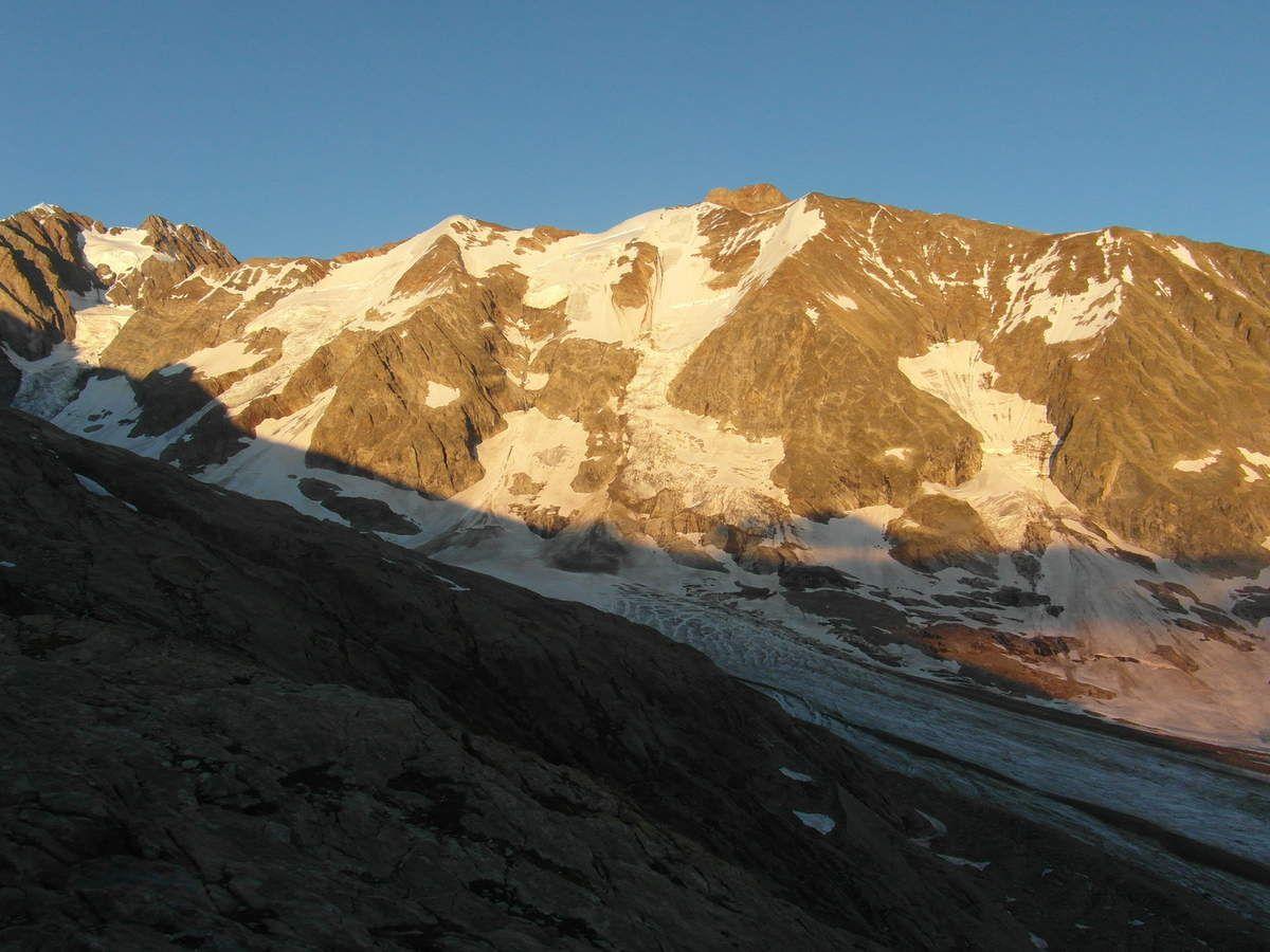 Aiguille de la Lée blanche et Mont Tondu
