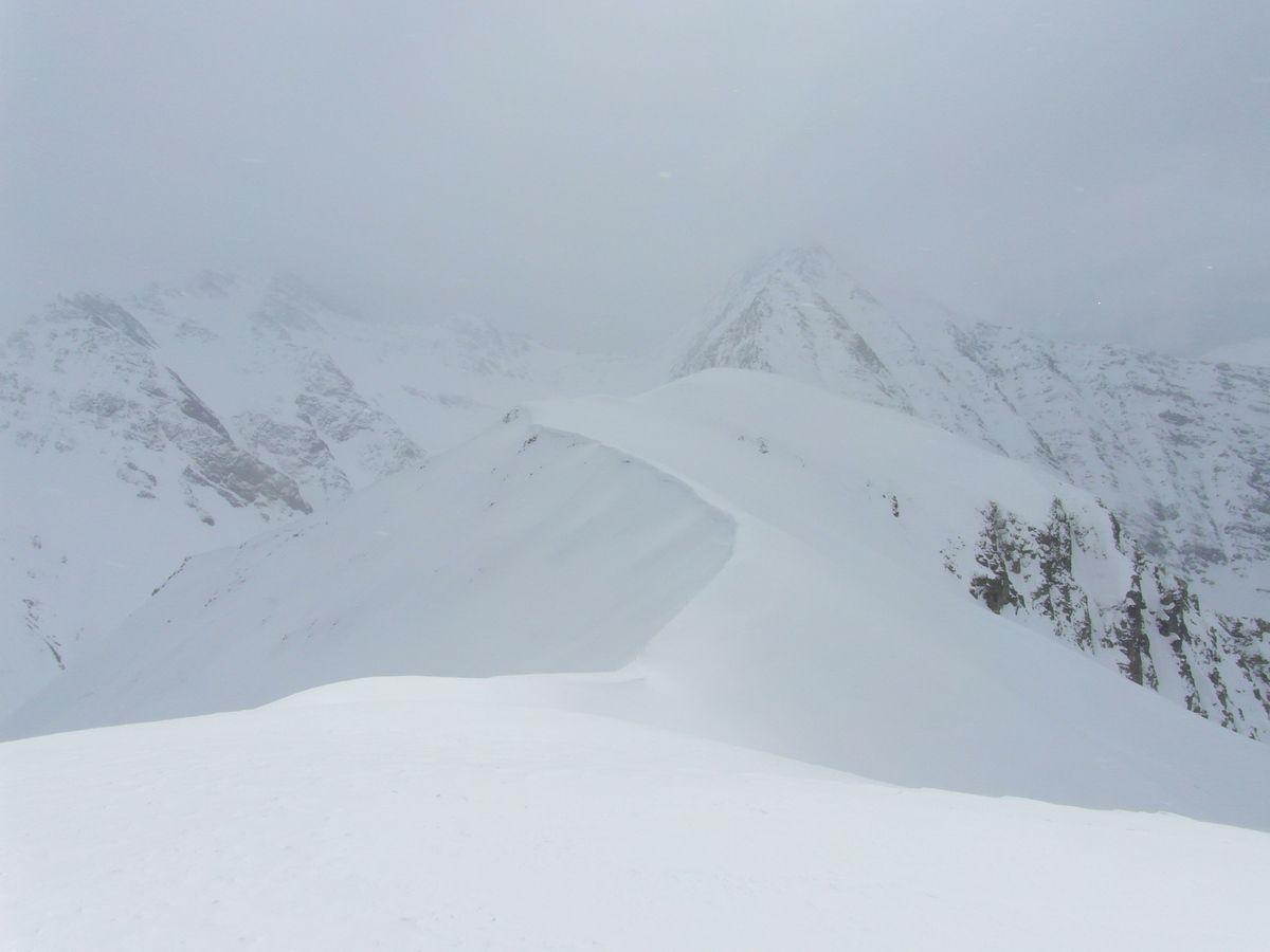Samedi matin: Mont de la Saxe et Testa Bernarda avec une météo mitigée