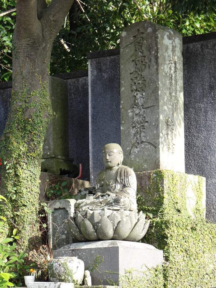 Fragment de cimetière, colline Nishizaka