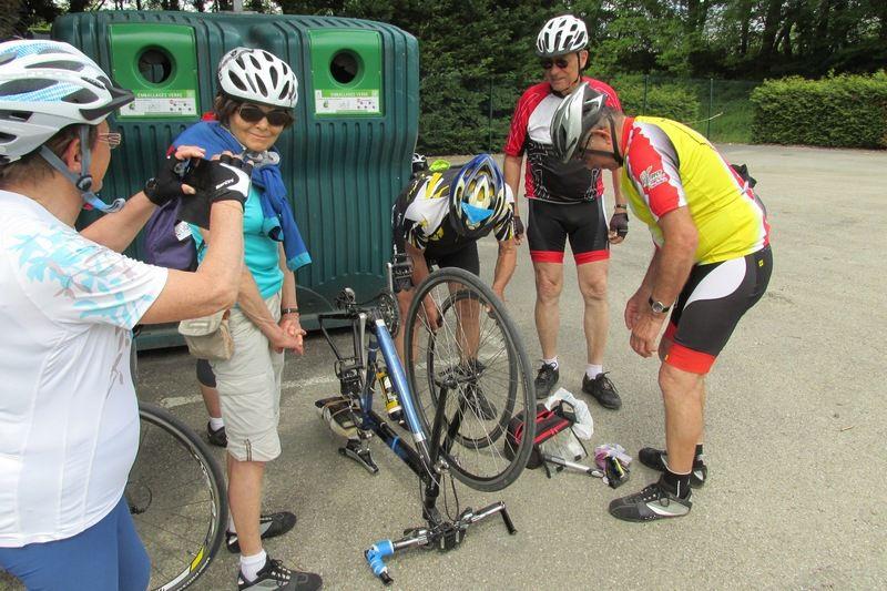 Vélo - Sorties des 18 et 25 mai 2016