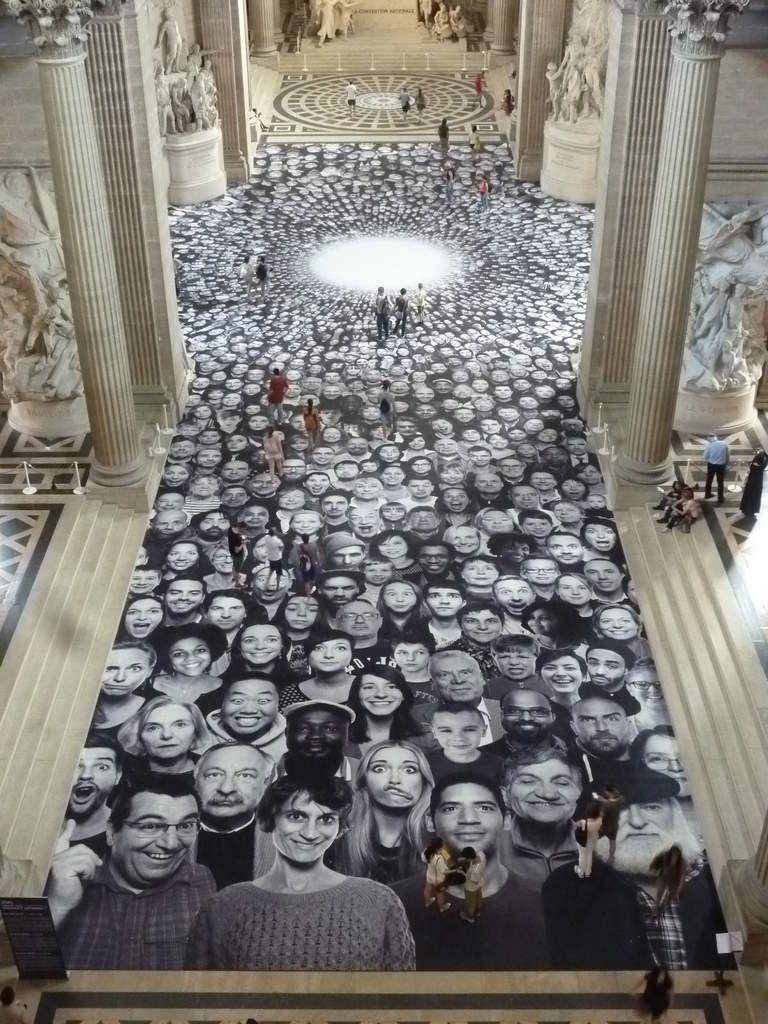 JR au Panthéon