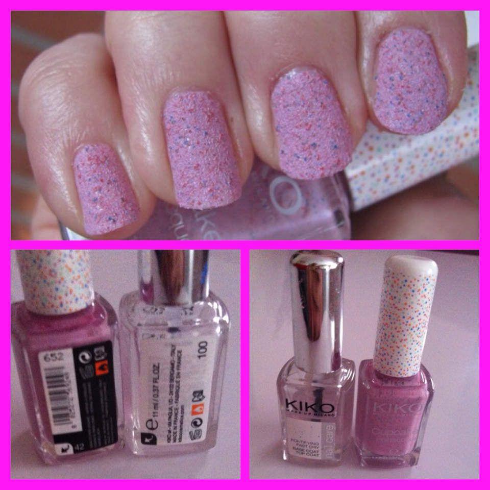 (On my nails n°2) Cupcake !