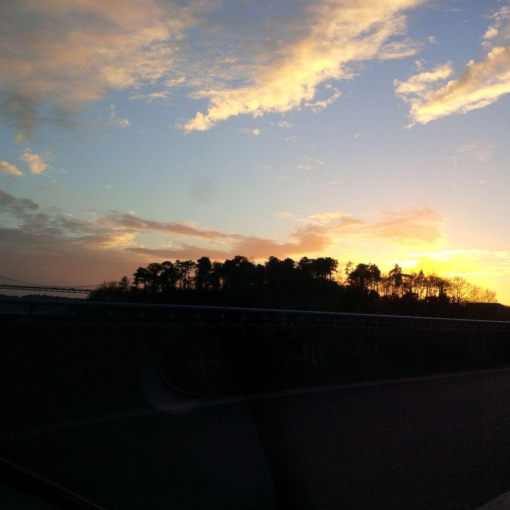 Coucher de soleil du 31/12/2013 - Morbihan 17:14 PM - BlackBerry Q10