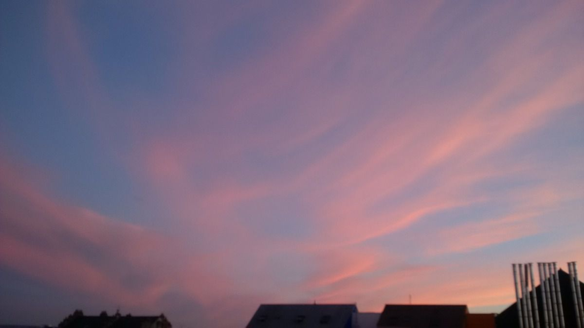 Coucher de soleil du 10/06/2014 - Nantes 22:14 PM - BlackBerry Z30