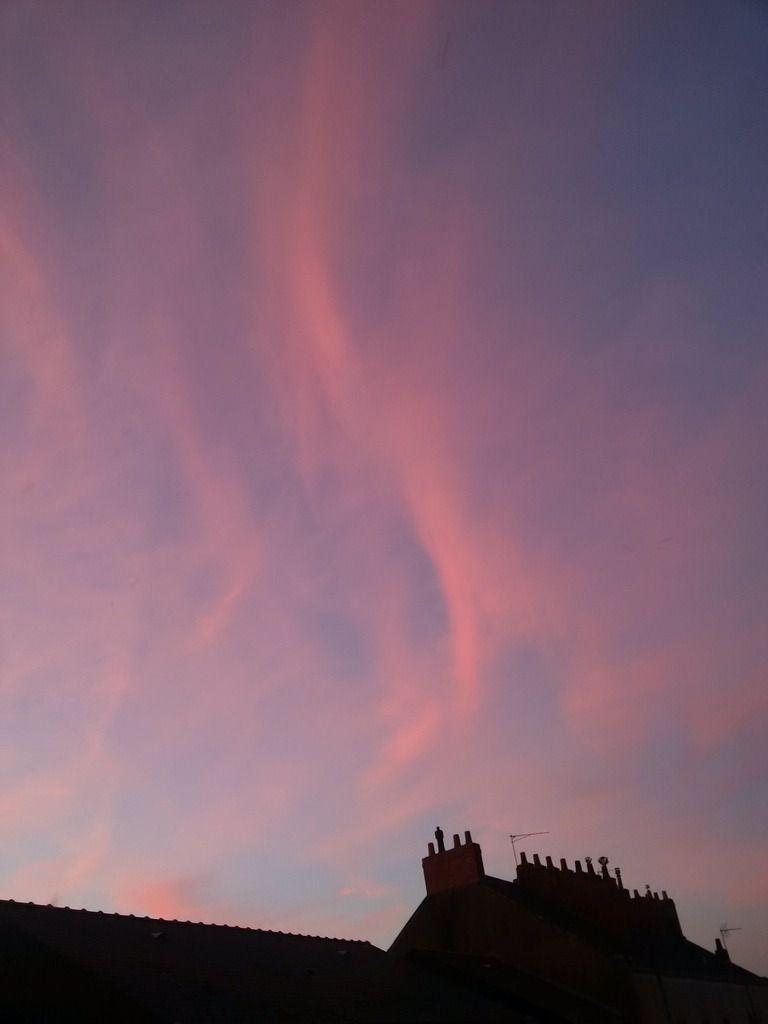 Coucher de soleil du 10/06/2014 - Nantes 22:18 PM - BlackBerry Z30