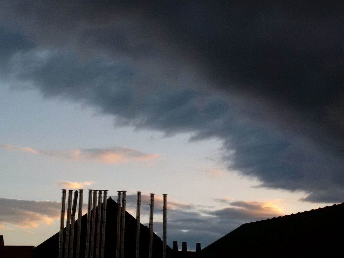 Gradient sky 08/07/2014 - Nantes 21:38 PM - BlackBerry Z30