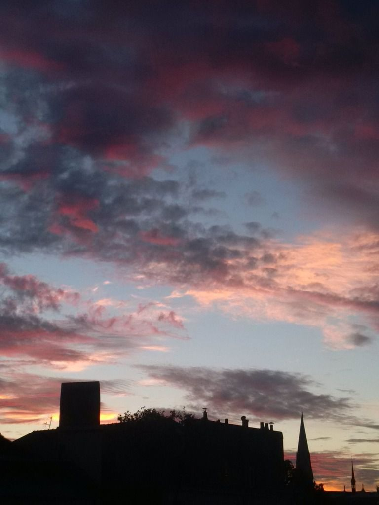 Sunset du 17/09/14 - Nantes 20:24 PM - BlackBerry Z30