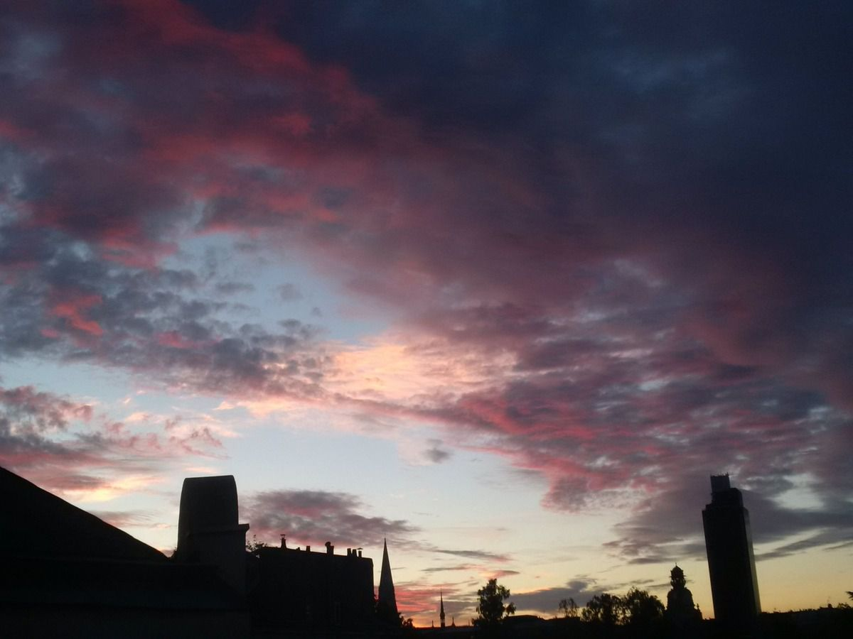 Sunset du 17/09/14 - Nantes 20:23 PM - BlackBerry Z30