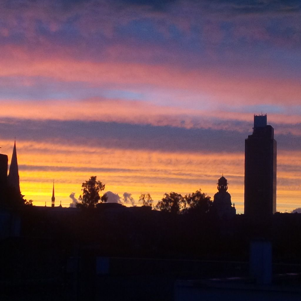Sunset du 28/08/14 - Nantes Tour de Bretagne 21:04 PM - BlackBerry Q10