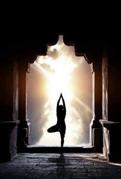Namaste, geste de paix et de respect.