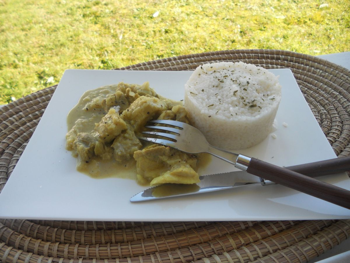 Curry de porc au thermomix