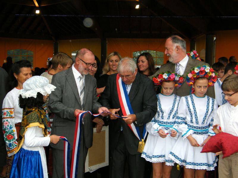 Inauguration de l'Espace Saint Laurent et 30 ème anniversaire du jumelage
