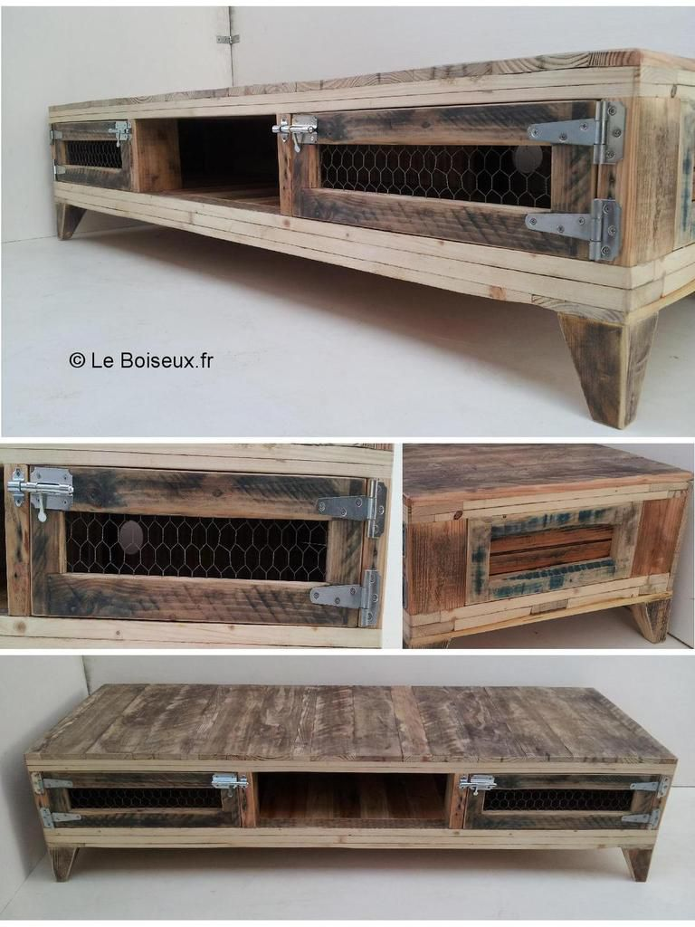 Bancs tv votre image meubles et d co mat riaux recycl s for Banc tv en bois
