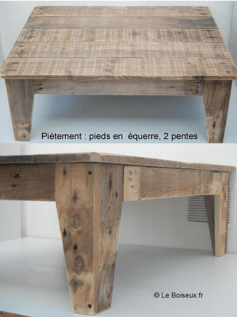 pieds de table en fuseau bois recycl tables de. Black Bedroom Furniture Sets. Home Design Ideas