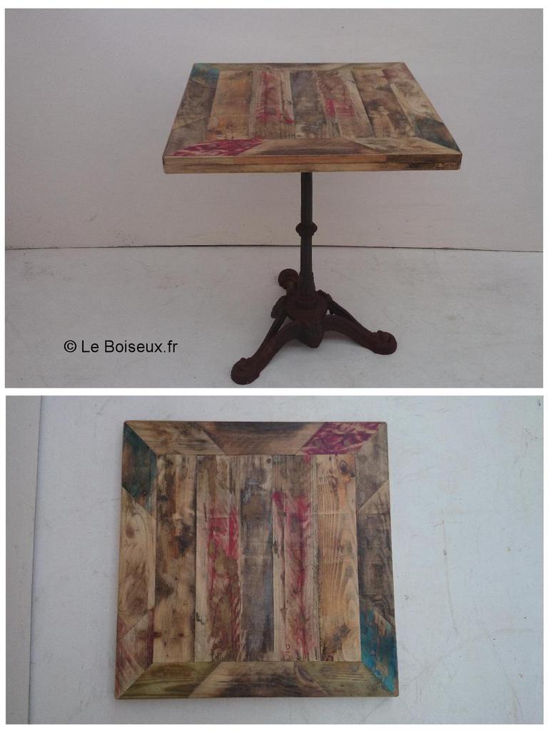 Tables bistrot sur commande meubles et d co mat riaux - Table de bistrot occasion ...