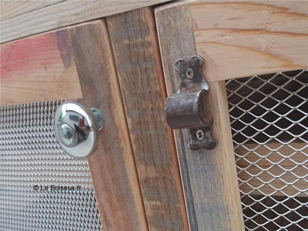 Meuble bas bois recyclé sur mesure