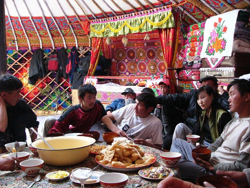 À table ! en Mongolie