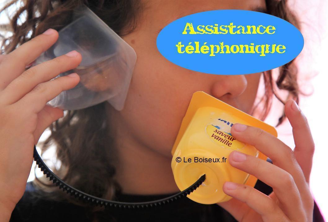 Le Boiseux assure l'assistance téléphonique