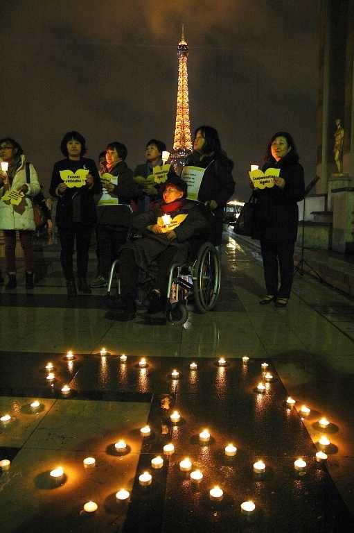 """A  l'issue d'une visite exceptionnelle à Paris : justice pour les """"femmes de réconfort"""""""