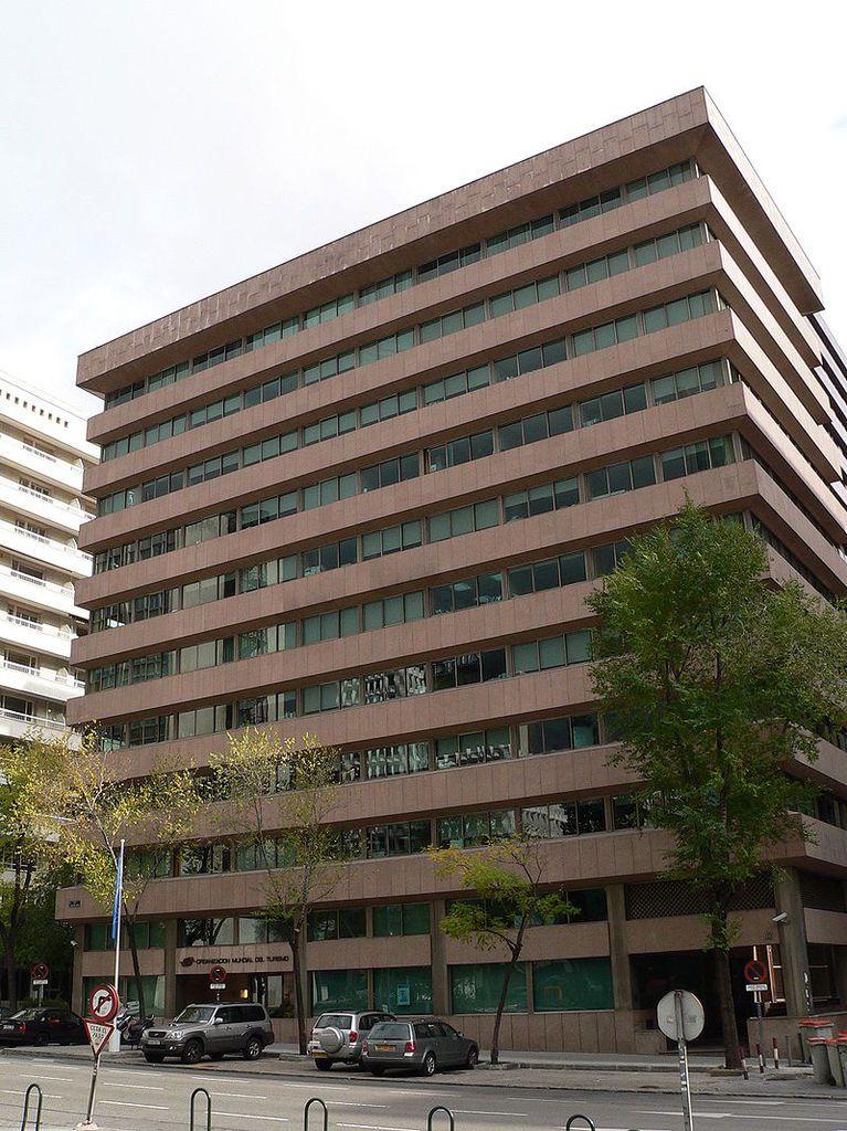 Le siège de l'Organisation mondiale du tourisme, à Madrid
