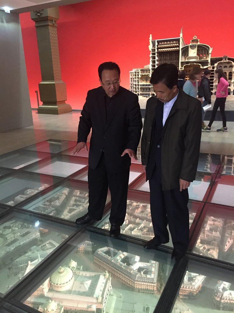 Une délégation de l'Association coréenne des Musées en visite en France à l'invitation de l'AAFC