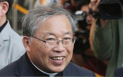 Le cardinal André Yeom Soo-jung, archevêque de Séoul, est aussi administrateur apostolique de Pyongyang.