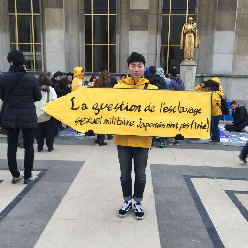 """""""La question des femmes de réconfort n'est pas réglée"""" : rassemblement à Paris le 1er janvier 2016"""